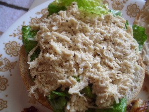 Crockpot Caesar Chicken